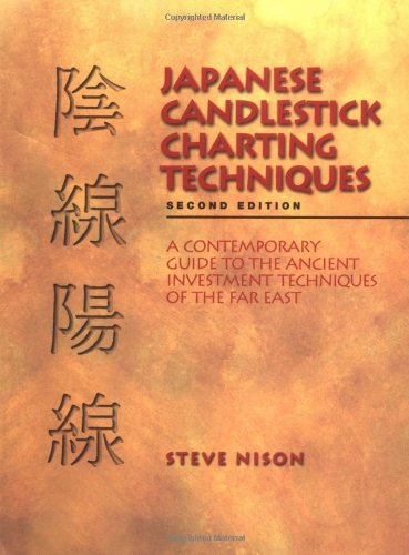 Steve Nison Japanese Candlestick Charting Techniques