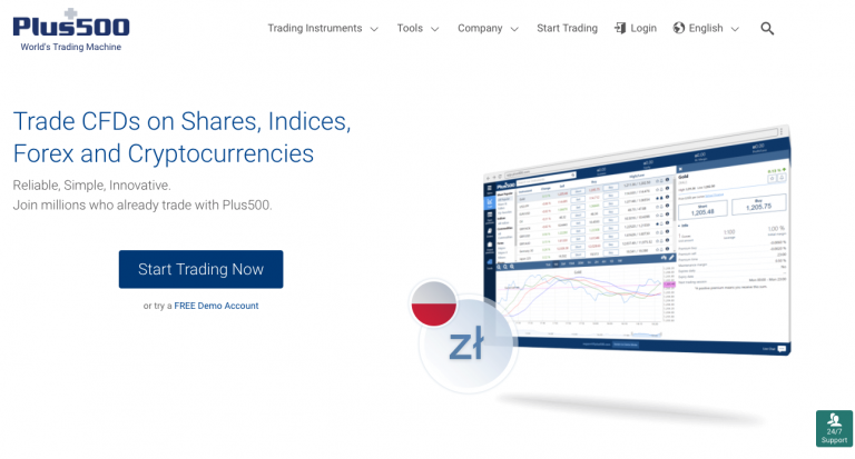 Is Plus500 reliable Forex broker? Find out in our review now!