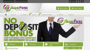 SuperForex up to $100 no deposit bonus
