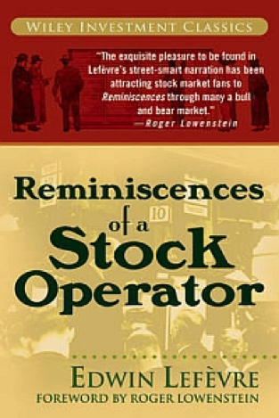 Edwin Lefèvre, Reminiscences of a Stock Operator