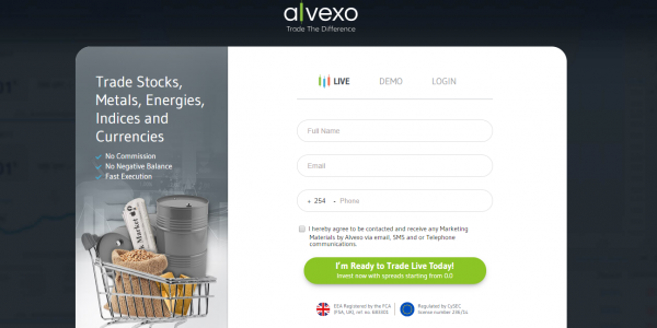 Alvexo accounts review