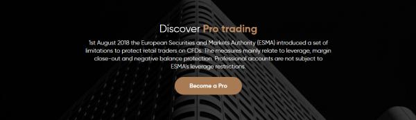 The accounts at Capital.com Forex broker