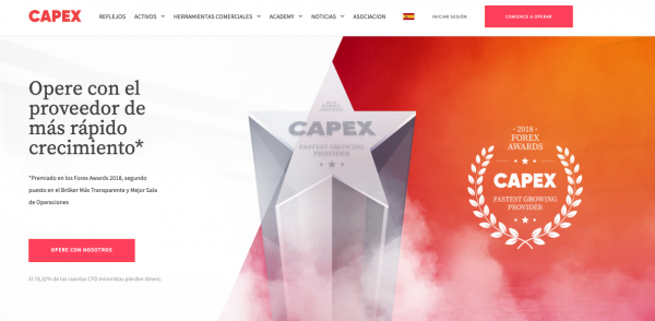 ¿Por qué operar con capex.com?